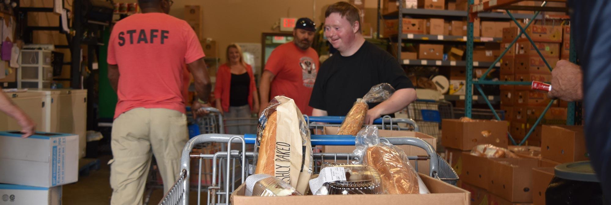 Food Distribution - Food Boxes - Manna Café Ministries