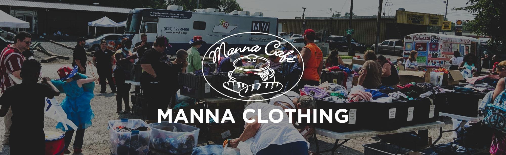 Stuff the Love Bus Header graphic - May 5th, 2018 - Manna Café Ministries